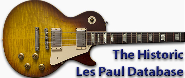 Gibson Les Paul Custom Shop Historic Database